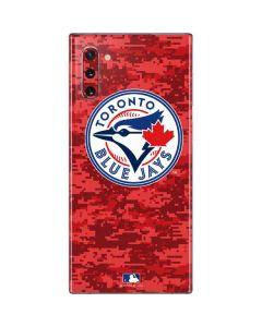 Toronto Blue Jays Digi Camo Galaxy Note 10 Skin