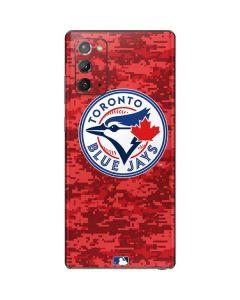 Toronto Blue Jays Digi Camo Galaxy Note20 5G Skin