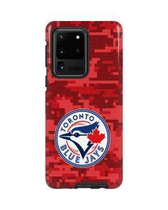 Toronto Blue Jays Digi Camo Galaxy S20 Ultra 5G Pro Case