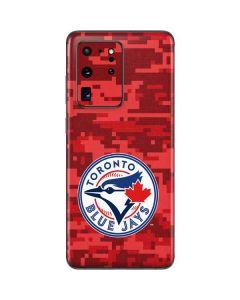 Toronto Blue Jays Digi Camo Galaxy S20 Ultra 5G Skin