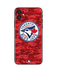 Toronto Blue Jays Digi Camo iPhone 11 Skin