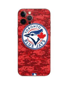 Toronto Blue Jays Digi Camo iPhone 12 Pro Skin