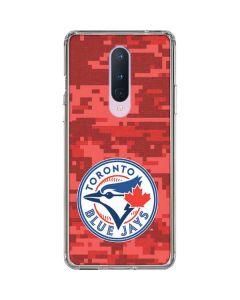 Toronto Blue Jays Digi Camo OnePlus 8 Clear Case