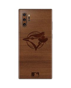 Toronto Blue Jays Engraved Galaxy Note 10 Plus Skin