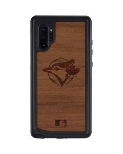 Toronto Blue Jays Engraved Galaxy Note 10 Plus Waterproof Case
