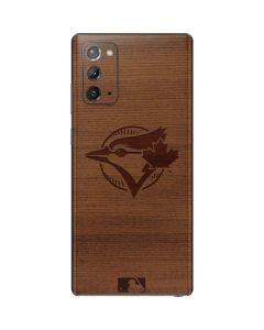 Toronto Blue Jays Engraved Galaxy Note20 5G Skin