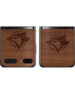 Toronto Blue Jays Engraved Galaxy Z Flip Skin