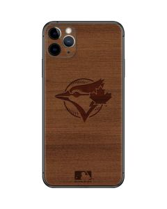 Toronto Blue Jays Engraved iPhone 11 Pro Max Skin