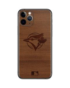 Toronto Blue Jays Engraved iPhone 11 Pro Skin