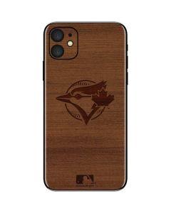 Toronto Blue Jays Engraved iPhone 11 Skin