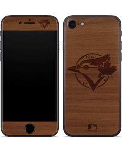 Toronto Blue Jays Engraved iPhone SE Skin