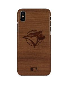 Toronto Blue Jays Engraved iPhone X Lite Case