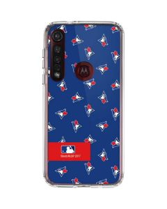 Toronto Blue Jays Full Count Moto G8 Plus Clear Case