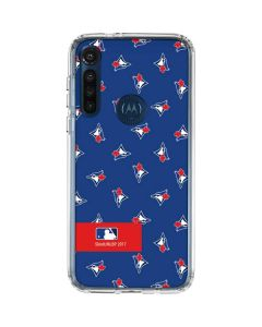 Toronto Blue Jays Full Count Moto G8 Power Clear Case