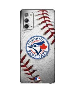 Toronto Blue Jays Game Ball Galaxy Note20 5G Skin