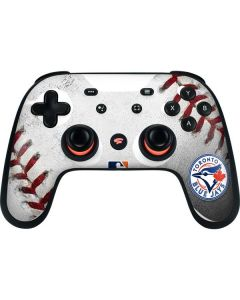 Toronto Blue Jays Game Ball Google Stadia Controller Skin