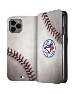 Toronto Blue Jays Game Ball iPhone 11 Pro Folio Case
