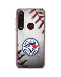 Toronto Blue Jays Game Ball Moto G8 Plus Clear Case