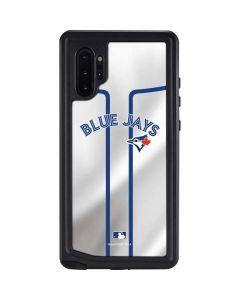 Toronto Blue Jays Home Jersey Galaxy Note 10 Plus Waterproof Case