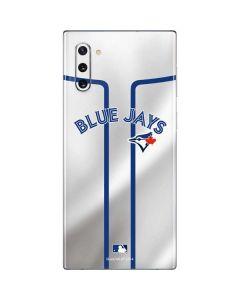 Toronto Blue Jays Home Jersey Galaxy Note 10 Skin