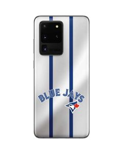 Toronto Blue Jays Home Jersey Galaxy S20 Ultra 5G Skin