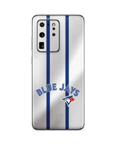 Toronto Blue Jays Home Jersey Galaxy S20 Ultra 5G Skin