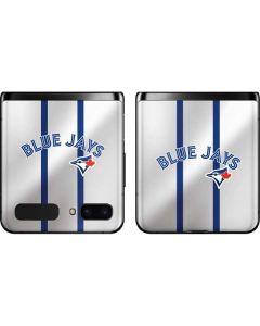 Toronto Blue Jays Home Jersey Galaxy Z Flip Skin