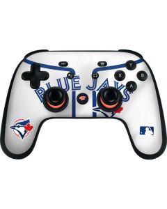 Toronto Blue Jays Home Jersey Google Stadia Controller Skin