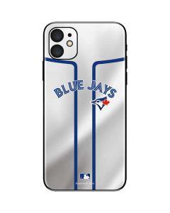 Toronto Blue Jays Home Jersey iPhone 11 Skin