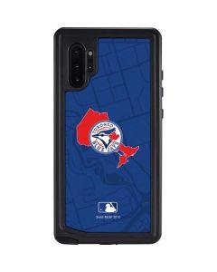 Toronto Blue Jays Home Turf Galaxy Note 10 Plus Waterproof Case