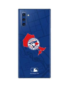 Toronto Blue Jays Home Turf Galaxy Note 10 Skin