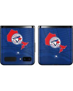 Toronto Blue Jays Home Turf Galaxy Z Flip Skin