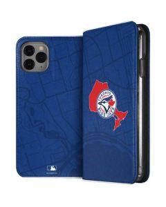 Toronto Blue Jays Home Turf iPhone 11 Pro Folio Case