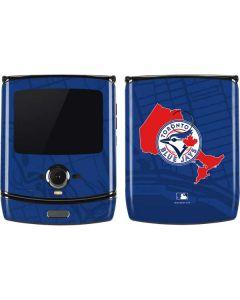 Toronto Blue Jays Home Turf Motorola RAZR Skin