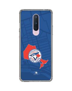 Toronto Blue Jays Home Turf OnePlus 8 Clear Case