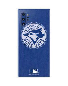 Toronto Blue Jays Monotone Galaxy Note 10 Plus Skin