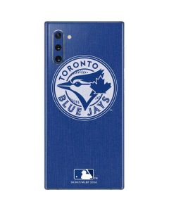 Toronto Blue Jays Monotone Galaxy Note 10 Skin