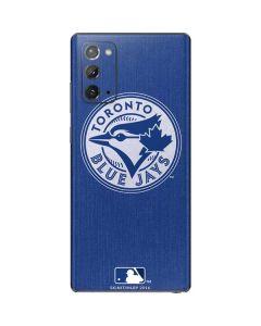 Toronto Blue Jays Monotone Galaxy Note20 5G Skin