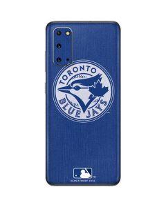 Toronto Blue Jays Monotone Galaxy S20 Skin