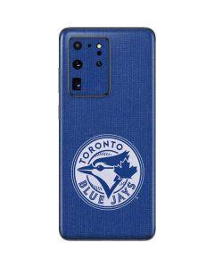 Toronto Blue Jays Monotone Galaxy S20 Ultra 5G Skin