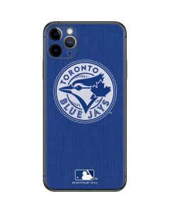 Toronto Blue Jays Monotone iPhone 11 Pro Max Skin