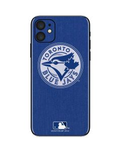 Toronto Blue Jays Monotone iPhone 11 Skin