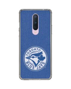 Toronto Blue Jays Monotone OnePlus 8 Clear Case