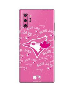 Toronto Blue Jays Pink Cap Logo Blast Galaxy Note 10 Plus Skin