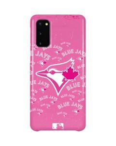 Toronto Blue Jays Pink Cap Logo Blast Galaxy S20 Lite Case
