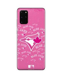 Toronto Blue Jays Pink Cap Logo Blast Galaxy S20 Plus Skin