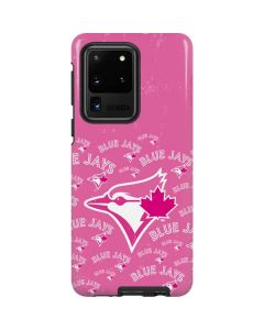 Toronto Blue Jays Pink Cap Logo Blast Galaxy S20 Ultra 5G Pro Case