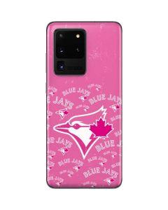 Toronto Blue Jays Pink Cap Logo Blast Galaxy S20 Ultra 5G Skin
