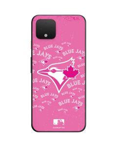 Toronto Blue Jays Pink Cap Logo Blast Google Pixel 4 Skin