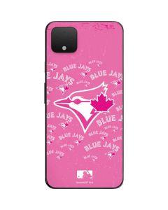 Toronto Blue Jays Pink Cap Logo Blast Google Pixel 4 XL Skin